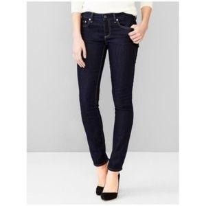 GAP 1969 Always Skinny Jeans Dark Wash Blue 29